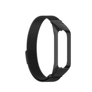 Mehrfarbiges magnetisches Uhrenarmband-Ersatzarmband in Schwarz für Samsung Galaxy Fit2 SM-R220 Uhrenreparaturteil