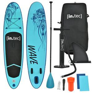 Stand Up Paddle Board Aufblasbar 305 cm SUP Paddelboard bis 85kg Surfboard Türkis