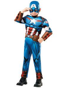 Captain America Deluxe Kinder 2-tlg.