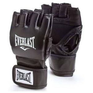 EVERLAST MMA-Handschuhe mit Offenem Daumen Schwarz L/XL