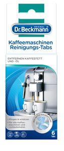 Dr. Beckmann Kaffeemaschinen Reinigungs-Tabs | entfernen Kaffeefett und -öl | mit Aktiv-Sauerstoff 1x 6 Tabs