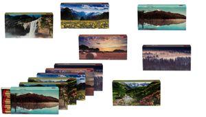 XL Streichholzschachteln Landschaft Motive: 8 x 45er Packungen / 96mm Natur/Wasserfall Streichhölzer Zündhölzer