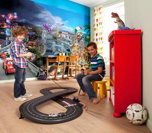 "Komar Fototapete "" Cars World"", bunt, Autos, Flitzer,  368 x 254 cm"