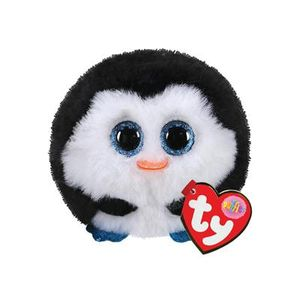 TY Puffies Pinguïn Knuffel Waddles 8 cm.