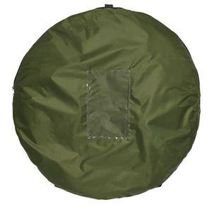 ProPlus Pop-Up-Sichtschutzzelt Polyester Grün
