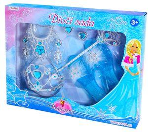Verkleidungsset Prinzessin Zauberstab Eis Königin Prinzessinnenschuhe