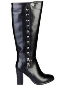 Laura Biagiotti Damen Stiefel Boots Damenschuhe, mit Absatz, Größe:EU 37, Farbe:Schwarz