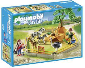 PLAYMOBIL 5968  Wilde Tiere  Wild Animal Enclosure Playset