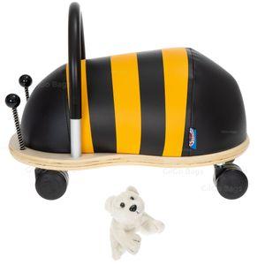 Rutscher Set 2 Teile  Wheely Bug Rutschfahrzeug Kinderfahrzeug Kinder Mädchen Jungen ab 1,5 Jahren Wheelybug klein Biene + Eisbär Figur