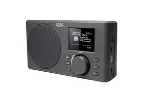XORO DAB 150 IR WLAN-Internetradio mit eingebautem 2200 mAh Akku und Spotify Connect