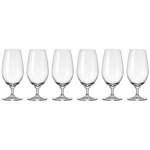 Leonardo Cheers Biertulpe 6er Set Bierglas Pilsglas Bier Glas mit Stiel 430 ml