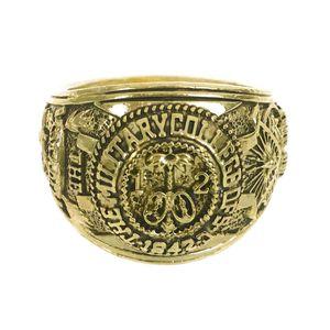 House of Cards Citadel Universität Ring von Frank Underwood aus Gusseisen | Gold