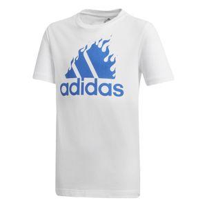 adidas Performance Kinder Freizeit-Sport-T-Shirt Boys Graphic T-shirt weiß, Größe:164