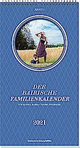 Zefix! Familienkalender 2021