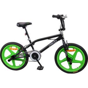 MERCIER BMX Freestyle 20 4 Pegs Bike - Schwarz und Grün
