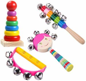 Musikinstrument Spielzeug für Kinder, Holz Percussion Instrument Set Baby Spielzeug Geschenk für Kleinkinder Kinder