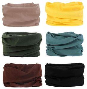 6 Stück Nahtlose Bandanas Multifunktionstuch Schal-Multifunktion Stirnband Gaiter Balaclava Gesichtsmaske Kopfbedeckung