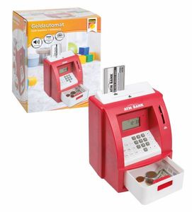 Idena Geldautomat, rot