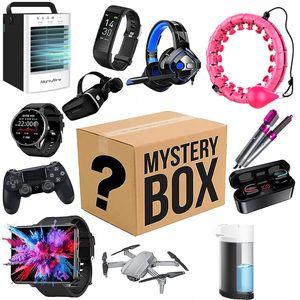 NightyNine Mystery Electronic Box, Geschenkbox Überraschungspaket Zufälliger Stil, Birthday Surprise Box, Überraschungsbox umfasst Elektronik, Die neuesten Handys, Smartwatches usw, Alles ist möglich (Zufällig)