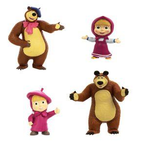 Masha und der Bär - Spiel- und Sammelfigurn, Charaktere:Bär als Maler (Masha)