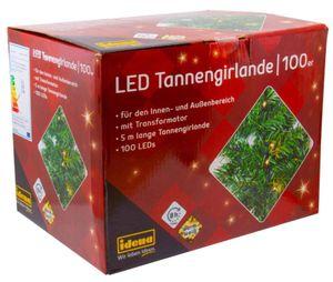 Idena Tannengirlande mit 100 LEDs Set: 1er