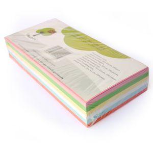 OfficeTree 250 bunte professionelle Moderationskarten rechteckig 130g/m² 6 Farben für Präsentation
