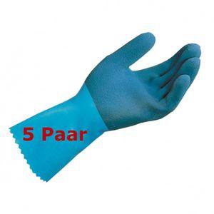 MAPA Jersette 301  Größe 10  Schutzhandschuh Naturlatex  mittlerer Schutz 5 Paar