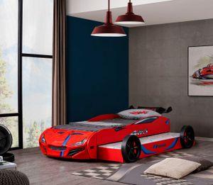 Relita Autobett Superdrift mit Gästebett rot