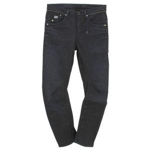 24122 G-Star, Arc Chrome 3D Tapered,  Damen Jeans Hose, Stretchdenim, darkblue , W 27 L 32