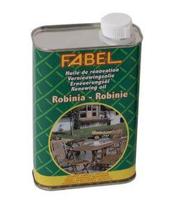 FABEL Spezial-Pflegeöl für Gartenmöbel aus Robinienholz, 500ml