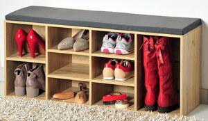 KESPER Schuhschrank mit Sitzkissen 15920-13