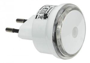 GAO LED Steckdosen Nachtlicht mit Dämmerungssensor Small Round
