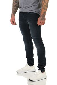 JACK & JONES JEANS LIAM2020 SKINNY JEANS STRETCH DENIM 29-36 in 4Farben, Hosengröße:W30/L32, Farbe:Blue Denim AGI004 / Dunkelblau