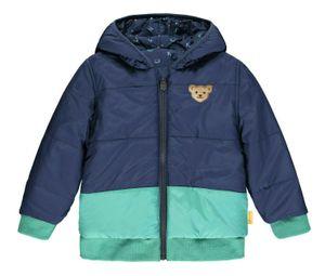 STEIFF® Jungen Wende-Jacke , Größe:116, Präzise Farbe:Blau