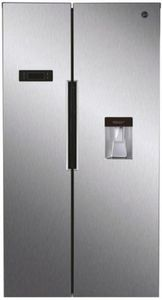 Hoover - HHSBSO 6174XWD - Side by Side - Inox -
