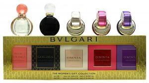Bvlgari Bulgari Mini Set 5x5ml EDT EDP Omnia Crystalline Roman Night Rose Goldea
