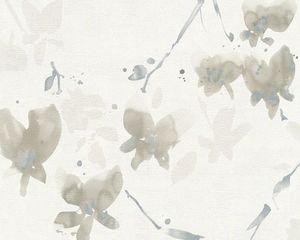 Livingwalls Tapete Daniel Hechter, grau, metallic, weiss, 10,05 m x 0,53 m, 952844, 95284-4