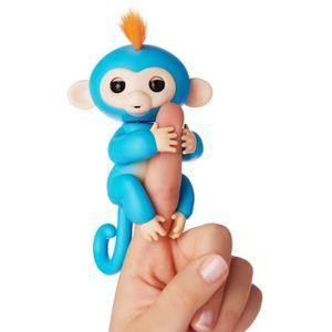 WOWWEE Fingerlings Äffchen Boris blau