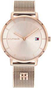Tommy Hilfiger Damen Analog Bronze/roségold Edelstahl Armbanduhr | 1782287