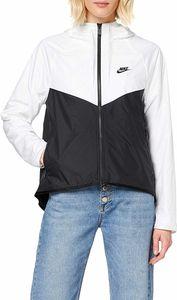 Nike W Nsw Wr Jkt White/Black/Black L