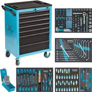HAZET Werkstattwagen mit 204 Werkzeugen, 178N-7/204
