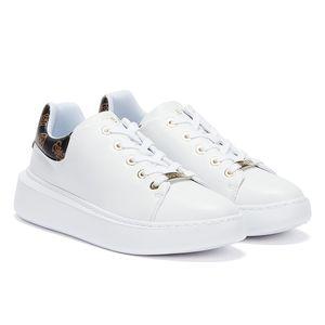 GUESS Bradly 2 Weiss / Braun Damen Sneakers