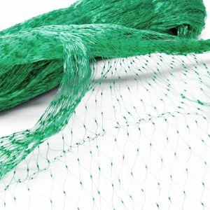 PE Vogelschutznetz Teichnetz 2x5m Laubnetz 15x15mm Schutznetz Pflanzenschutz