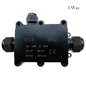 3 Wege Wasserdichte Abzweigdose Verteilerdose Anschlussdose Verbinder IP68