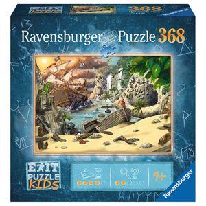RAVENSBURGER Kinderpuzzle EXIT Puzzle Kids Das Piratenabenteuer 368 Teile