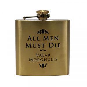 Game of Thrones Flachmann All Men Must Die