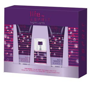 Esprit Life Night Lights Woman Eau De Toilette 15 ml + DG 75 ml + BL 75 ml