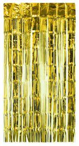 Türvorhang Lametta 250x100cm, Farbauswahl:gold