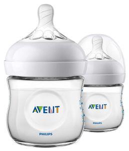 Avent Natural Flasche neu 125ml 2er Pack SCF030-27
