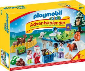"""Playmobil 9391 1.2.3 Adventskalender """"Waldweihnacht der Tiere"""""""